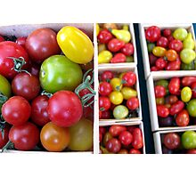 Heirloom Tomatoes Photographic Print