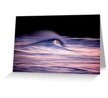wave blur Greeting Card
