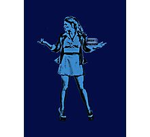 Belle French Blue Photographic Print