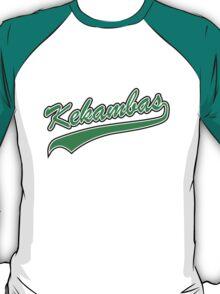Kekambas Baseball Team Hardball T-Shirt