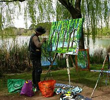 Art in the Park  by Ellanita