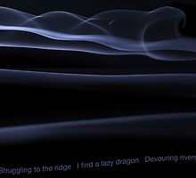Smoky Blues Devouring Rivers by Richard G Witham