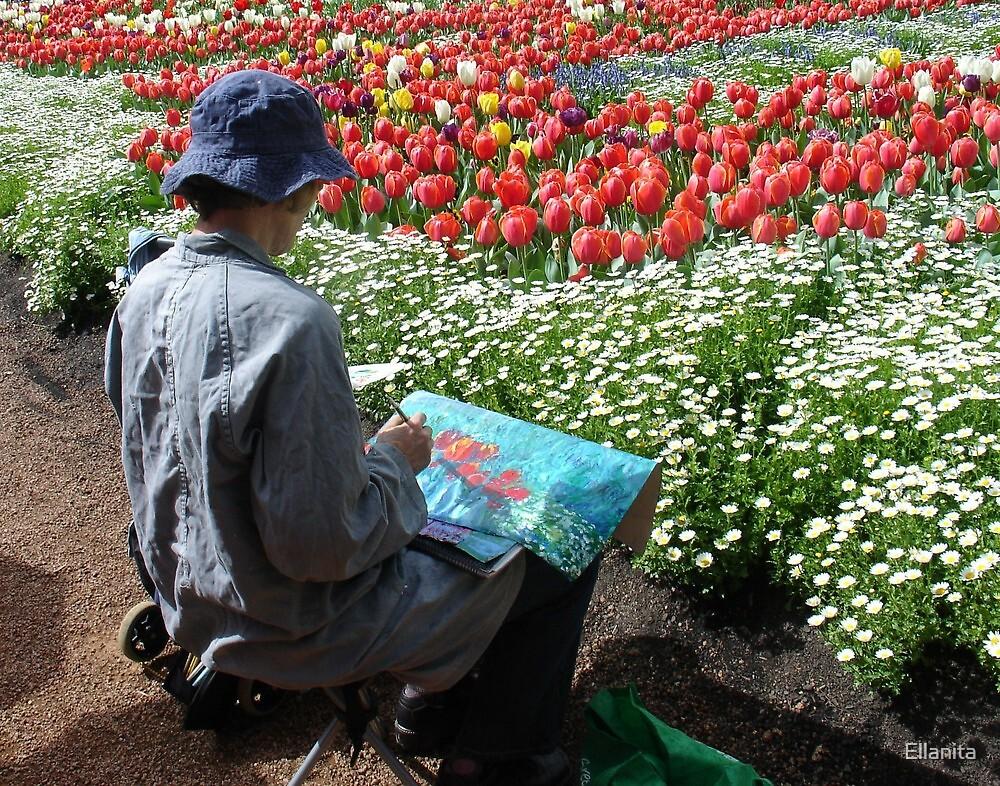 Inspiration- Art in the Park  by Ellanita