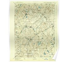 Massachusetts  USGS Historical Topo Map MA Franklin 352670 1893 62500 Poster