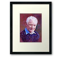 Portrait of Alan Bidstrup Framed Print