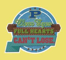 """Clear eyes, full heart, can't lose"" - Friday Night Lights Kids Clothes"