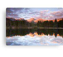 Sprague Lake Rocky Mountain National Park, Colorado Canvas Print