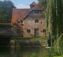Watermill Mapledurum by John  Copley