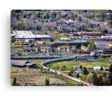 View of Kalispell Canvas Print