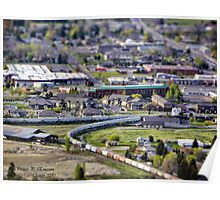 View of Kalispell Poster