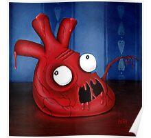 Blargh Heart Poster