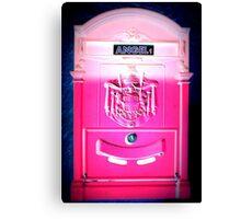 Angel1 Postbox Canvas Print