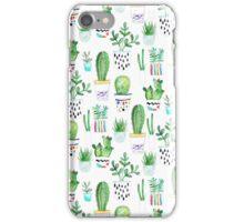 Watercolour Succulents iPhone Case/Skin