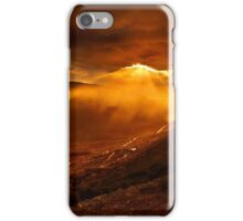 Rain falling on the road to Delphi iPhone Case/Skin
