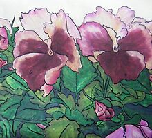 Pansies VII by Alexandra Felgate