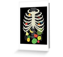 Eating healthy Greeting Card
