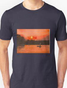Sunset on the Chobe River Botswana T-Shirt