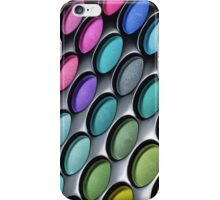 Makeup Artist Eye Shaddow Rainbow iPhone Case/Skin