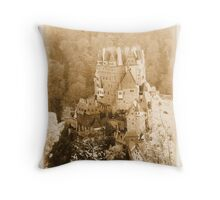 Burg Eltz Castle Throw Pillow