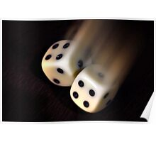 Rolling dices Poster