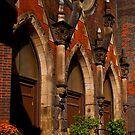 Our Lady of Lourdes Roman Catholic Church by Jim Butera