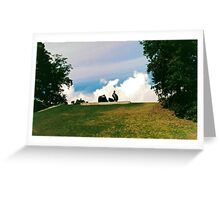 Henry Moore @ Louisianna MoM Art, Denmark Greeting Card