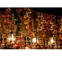 The Christmas Market - Nuremberg, Germany Photographic Print