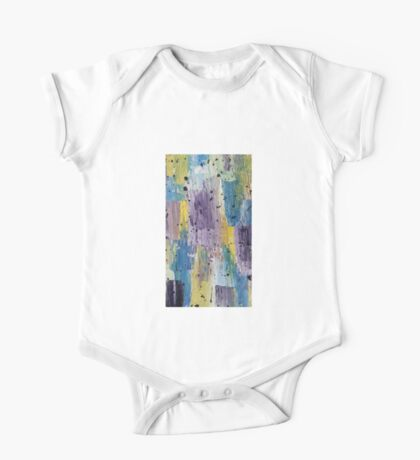 Acrylic abstract colorful painting One Piece - Short Sleeve