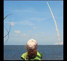 Little Miss and Atlantis Launch 2010 by Bryan Allen