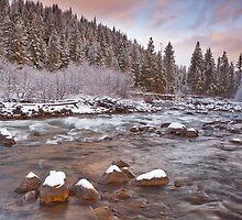 Riverwalk at Sunrise by Darren White  Photography