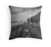 Industrial Decline Throw Pillow
