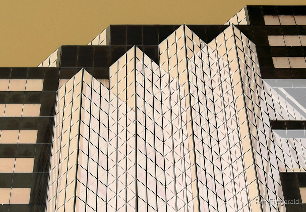 Zenith Centre Chatswood Golden Glow  by Ron Fitzgerald