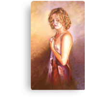 'Portrait of Jacinta' Canvas Print
