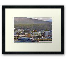 Ushuaia, Argentina. Framed Print