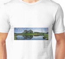 River Brathay reflections at Elterwater English Lake District Unisex T-Shirt