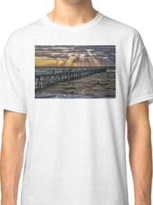 Sunset on the jetty Classic T-Shirt