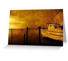 Peace in the Harbor Greeting Card