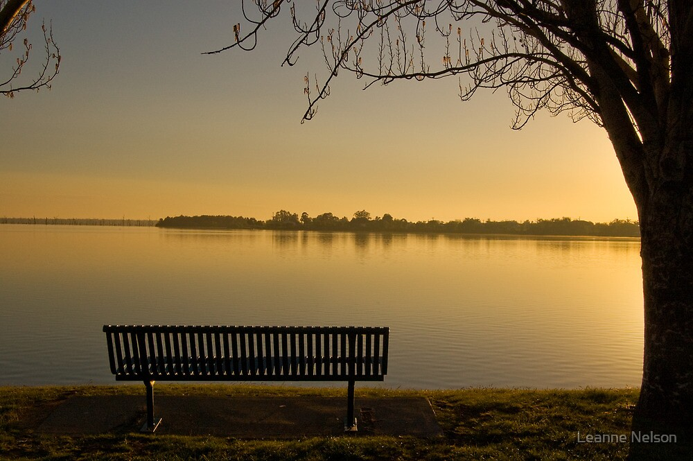 Mulwala Sunrise by Leanne Nelson