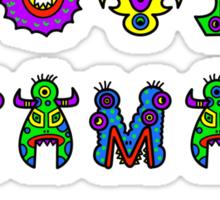 I Love Mama Sticker