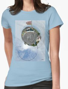 Glencolmcille - the man who missed the bus Womens Fitted T-Shirt