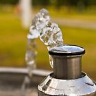 Water Fountain at a Playground by hedidwhat