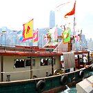 Hong Kong Harbour by Ali Brown