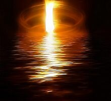 Flame On The Water by Darlene Bayne