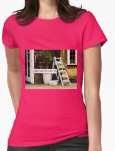 KEEP CALM Display Womens Fitted T-Shirt