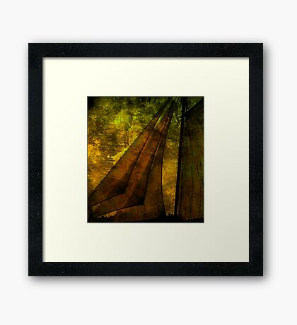 Night Sailing Framed Print