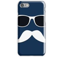Geeky Mustache iPhone Case/Skin