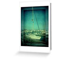 Lake Michigan Pier ©  Greeting Card