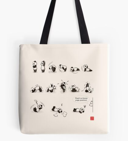 That's a Funny Yoga Position Tote Bag