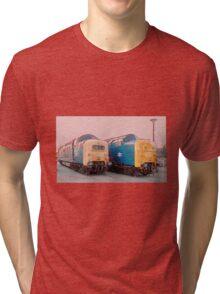 British Rail Deltic. Tri-blend T-Shirt