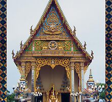 Thailand - Entry to Wat by DAdeSimone